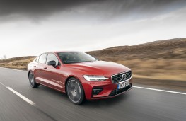 Volvo S60, 2019, front, action