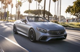Mercedes-Benz S-Class Cabriolet, 2018, front