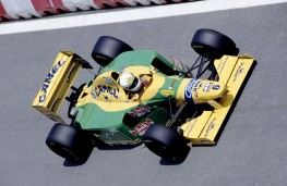 Benetton F1 driven by Michael Schumacher