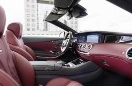 Mercedes-Benz S-Class Cabriolet, 2018, interior