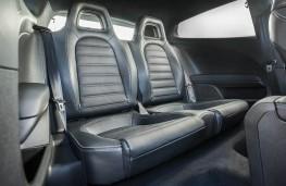 Volkswagen Scirocco R, rear seats