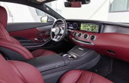 Mercedes-Benz S-Class Coupe, 2017, interior