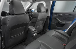 Skoda Scala, 2019, rear seats