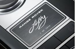 Range Rover Fifty, 2020, plaque