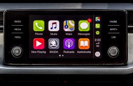 Skoda Scala, 2019, display screen