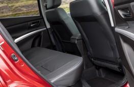 Suzuki SX4 S-Cross, 2017, seats