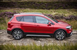 Suzuki SX4 S-Cross, 2017, side, static