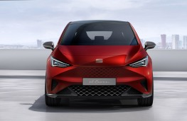 SEAT el-Born concept head on