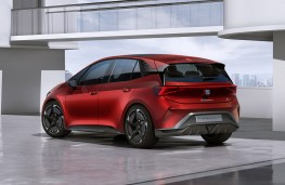 SEAT el-Born concept rear threequarters