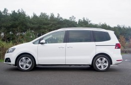 SEAT Alhambra, side static