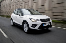 SEAT Arona, front action