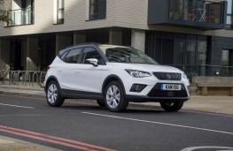 SEAT Arona, front static