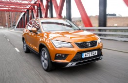 SEAT Ateca, front action