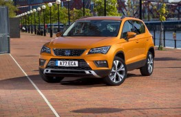 SEAT Ateca, front static