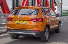 SEAT Ateca, rear action