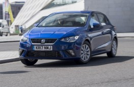 SEAT Ibiza, front action