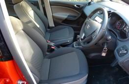 SEAT Ibiza, front seats