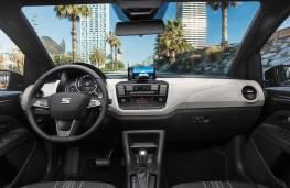 SEAT Mii electric cockpit