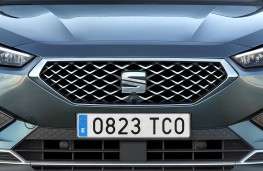 SEAT Tarraco grille detail