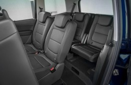 SEAT Alhambra, interior, rear