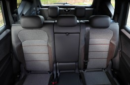 SEAT Tarraco, interior, rear