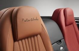 Bentley Continental, Sir Peter Blake, seats