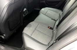 Peugeot 508 SW, 2019, Allure trim, rear seats