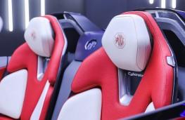 MG Cyberster, 2021, seats