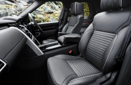 Land Rover Discovery, 2017, seats, front