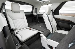 Land Rover Discovery, 2017, seats, rear
