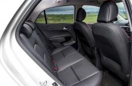 Kia Picanto GT-Line, 2017, rear seats