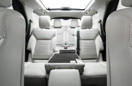 Land Rover Discovery, 2017, seats, through view