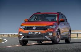 Volkswagen T-Cross SE, 2019, front