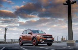 Volkswagen T-Cross SE, 2019, front, static