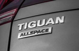 Volkswagen Tiguan Allspace SEL, 2018, badge