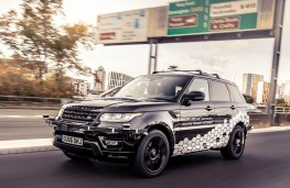 Self Driving Range Rover Sport on Coventry Ring Road