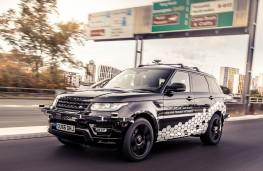 Self Driving Range Rover Sport