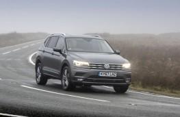 Volkswagen Tiguan Allspace SEL, 2018, front