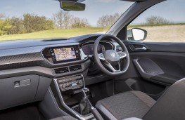 Volkswagen T-Cross SEL, 2019, interior