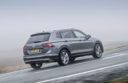 Volkswagen Tiguan Allspace SEL, 2018, rear