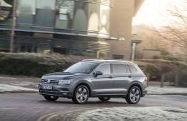 Volkswagen Tiguan Allspace SEL, 2018, side