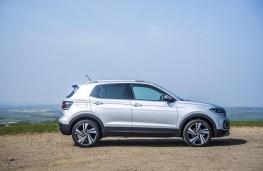 Volkswagen T-Cross SEL, 2019, side, static