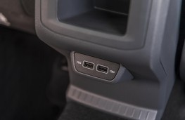 Volkswagen T-Cross SE, 2019, rear USB ports