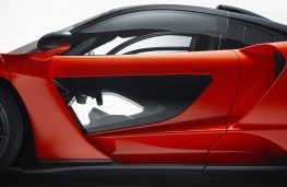 McLaren Senna, 2018, door, detail