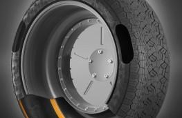 ContiSense tyre, cutaway