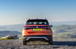 Volkswagen T-Cross SE, 2019, rear, static