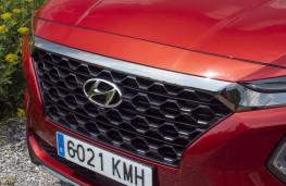 Hyundai Santa Fe, 2018, grille