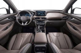 Hyundai Santa Fe, 2018, interior