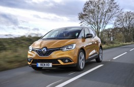 Renault Scenic, 2016, front action