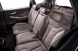 Hyundai Santa Fe, 2018, rear seats